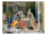The Arab Scribe, Cairo Giclee Print by John Frederick Lewis