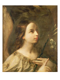 Angel of the Annunciation Lmina gicle por Guido Reni