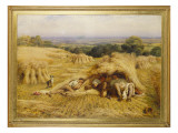 The Noonday Rest, 1862 Giclee Print by John Linnell