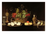 Still Life with Oysters Giclee Print by Frans Ykens