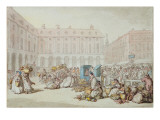 Covent Garden Market Giclee Print by  Rowlandson