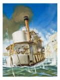 The Bulldog Admiral, 1982 Giclee Print by Mcbride