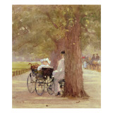 A Rest in Rotten Row, 1892 Giclee Print by Rose Maynard Barton