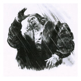 Luther Caught in a Thunderstorm Giclee Print by C.l. Doughty