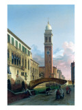 San Giorgio Dei Greci, Venice Giclee Print by Lancelot Theodore Turpin de Crisse