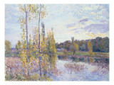 The Lake at Chevreuil Giclee Print by Alfred Sisley