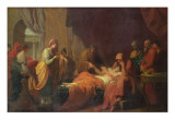 Erasistratus of Ceos Giclee Print by Benjamin West