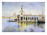 Venice, the Dogana, 1874 Giclee Print by Henry Roderick Newman