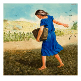 The Sower of the Seed Giclee Print by Clive Uptton