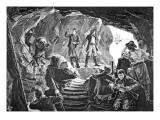 The Smugglers' Cave Giclee Print by  Pearse