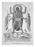 Kali the Hindu Goddess Giclee Print