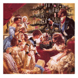 The Story of the Christmas Tree Giclee Print by C.l. Doughty
