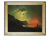 Vesuvius from Posilipo Giclee Print by Joseph Wright of Derby