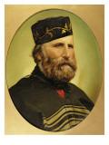 Portrait of Giuseppe Garibaldi Premium Giclee Print