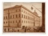 Palazzo Di Venezia, 1833 Giclee Print by Agostino Tofanelli