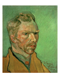 Self Portrait, 1888 Premium Giclee Print by Vincent van Gogh