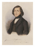 Theodor Fontane, 1843 Giclee Print by  German School