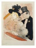 At the Concert, 1896 Giclee Print by Henri de Toulouse-Lautrec