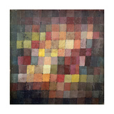 Ældgammel harmoni, 1925 Giclée-tryk af Paul Klee