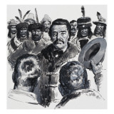 Louis Riel and the Metis, 1972 Giclee Print by  English School