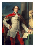 Portrait of a Gentleman Giclee Print by Pompeo Batoni