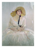 Portrait of Raquel Meller Giclee Print by Joaquín Sorolla y Bastida