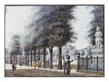 Wilhemsplatz, Berlin Giclee Print by F.A. Calau