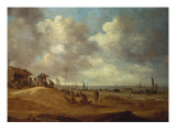 A View of Scheveningen, 1649 Giclee Print by Jan Josephsz. Van Goyen