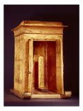The Golden Shrine of Tutankhamun Reproduction procédé giclée par Egyptian 18th Dynasty