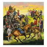 Children's Annual Cover Giclee Print by Ron Embleton