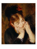 Contemplation, 1877 Giclee Print by Pierre-Auguste Renoir