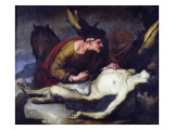 The Good Samaritan Giclee Print by Luca Giordano