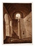 The Praetorian Reservoir, 1833 Giclee Print by Agostino Tofanelli