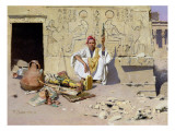 The Seller of Artefacts, 1885 Giclee Print by Raphael Von Ambros