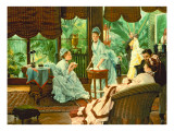 In the Conservatory Giclee Print by James Jacques Joseph Tissot