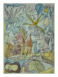 Flock of Birds, 1917 Gicl&#233;e-Druck von Paul Klee