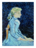 Adeline Ravoux, 1890 Giclee Print by Vincent van Gogh
