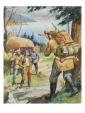 Hudson's Bay Company Giclee Print by Barrie Linklater