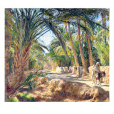 On the Road to Biskra Giclee Print by Emile Friant