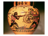 Heracles Fighting Geryon Giclee Print by  Greek
