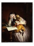 News from Sebastapol, 1875 Giclee Print by Charles West Cope
