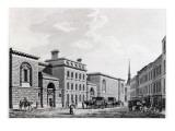 Newgate Prison, 1799 Giclee Print by Thomas Malton Jnr.
