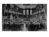 The House of Commons, 1833 Giclee Print by Sir George Hayter