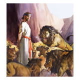 Daniel in the Lions' Den Giclee Print by McConnell