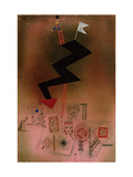 Arrested Lightning, 1927 Gicl&#233;e-Druck von Paul Klee