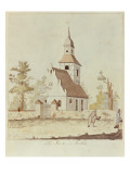 Church in Pankow, Berlin Giclee Print by  German School