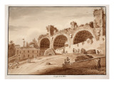 The Temple of Peace, 1833 Giclee Print by Agostino Tofanelli