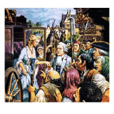 King Louis and Marie Antoinette Giclee Print by Barrie Linklater