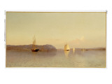 Late Afternoon, Haverstraw Bay Giclee Print by Francis Augustus Silva