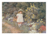 Pause for Reflection Giclee Print by Helen Allingham